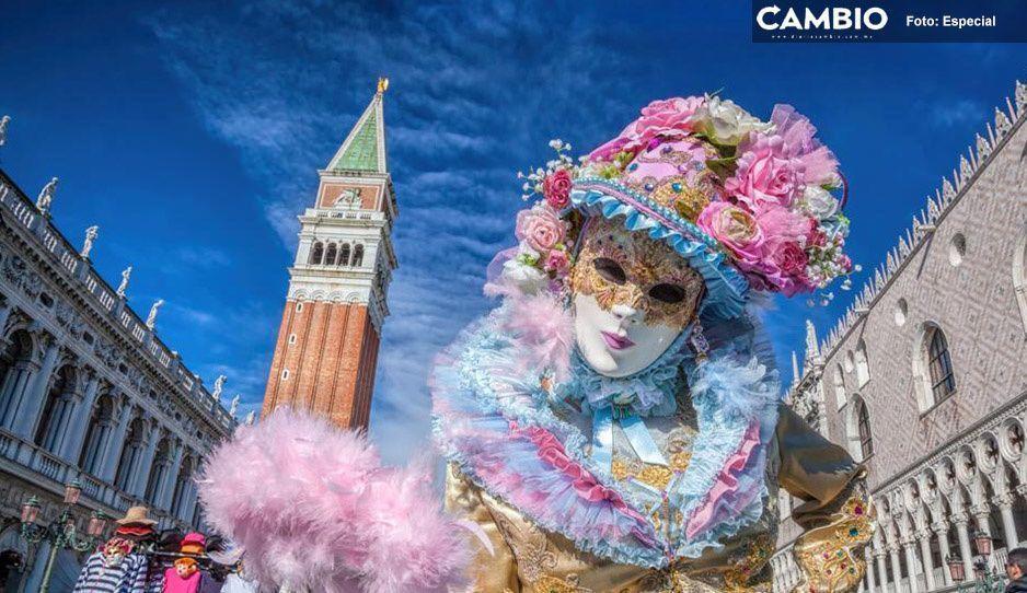 Nueva víctima del Coronavirus; Italia cancela el Carnaval de Venecia