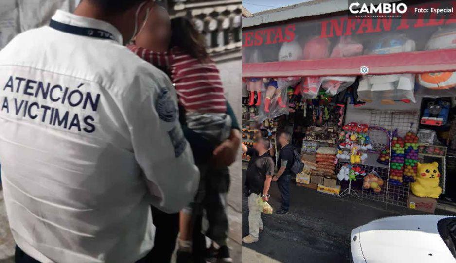 Hallan a la niña Kelly: no fue secuestrada, estaba durmiendo en local del mercado El Carmen