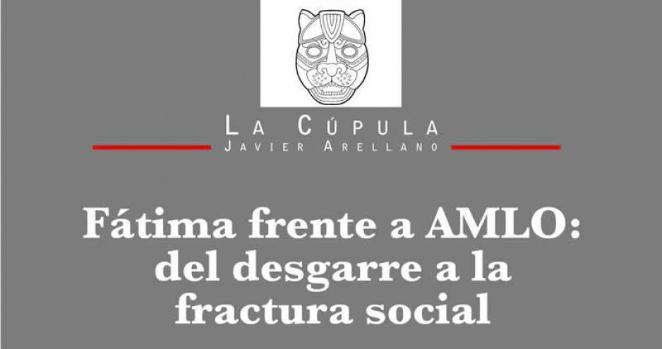 Fátima frente a AMLO: del desgarre a la fractura social.