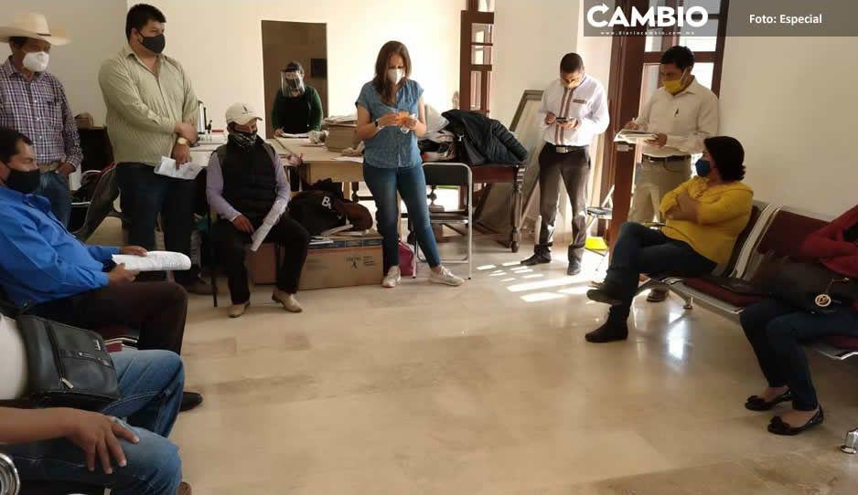 Piden ediles auxiliares a Ecoloco Vargas obras  y mayor seguridad pública de Huauchinango