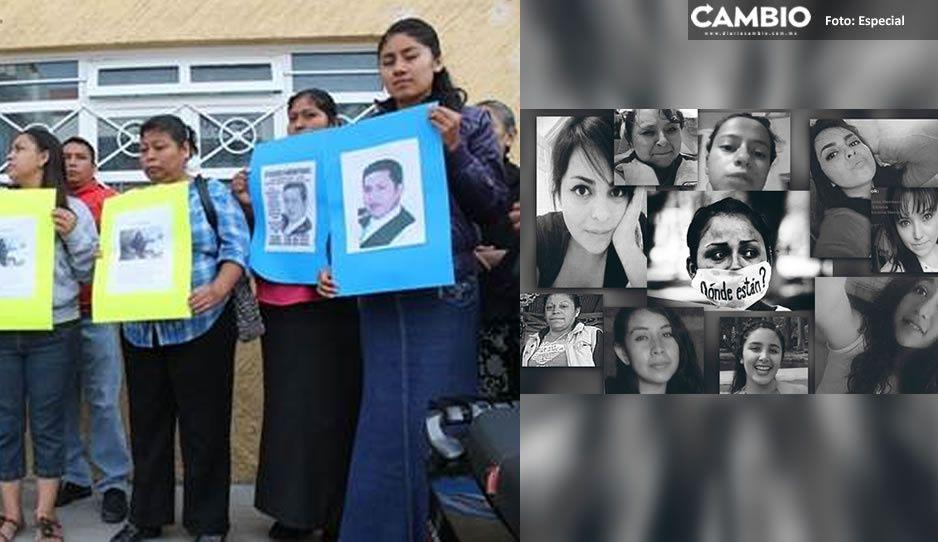 Madres de 60 familias en Tehuacán tienen un desaparecido y exigen que autoridades respondan