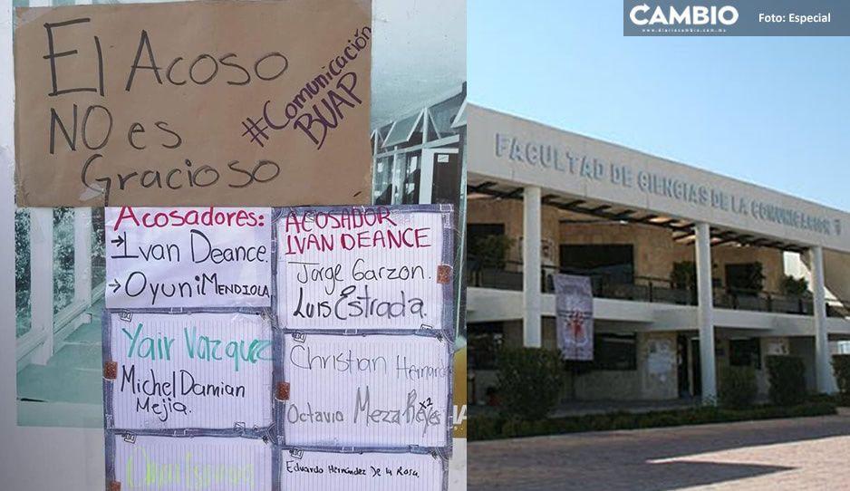 Alumnas alzan la voz y denuncian acoso sexual dentro de Comunicación de la BUAP