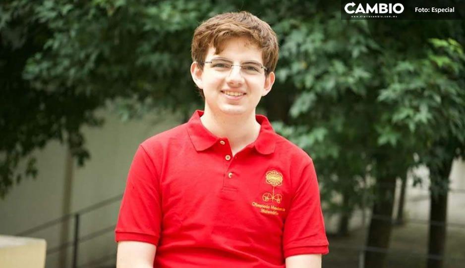 Estudiante mexicano gana medalla de oro en Olimpiada Internacional de Matemáticas