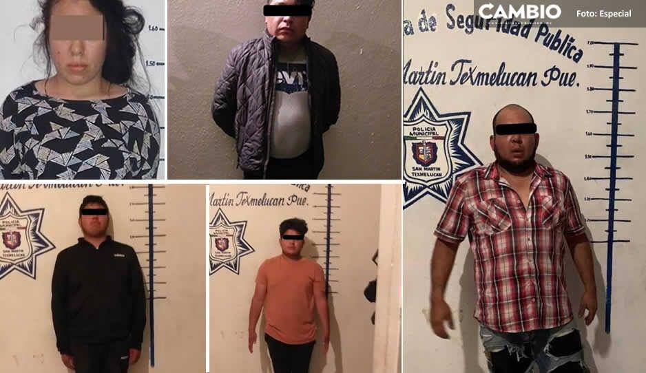 Policía de Texmelucan actúa contra delincuencia, realiza detenciones en varios operativos