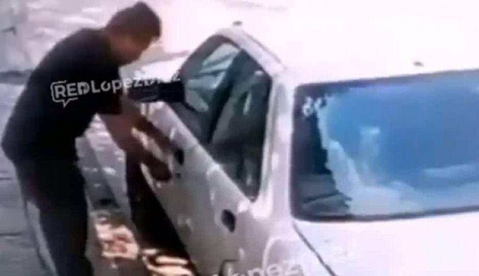 En 30 segundos roban vehículo en la Romero Vargas (VÍDEO)