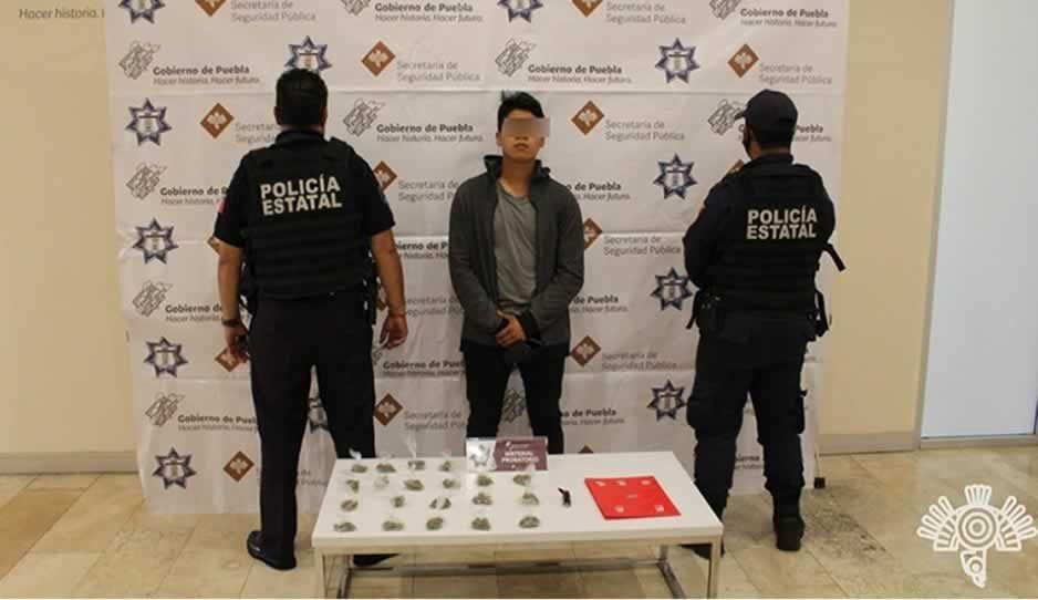 Detienen a narcomenudista en Loreto; ofrecía droga por Facebook