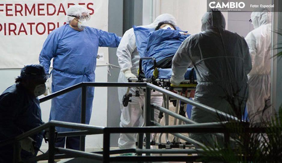 Con sus 9 fallecidos, Puebla al tercer lugar nacional de ranking de muertos por coronavirus