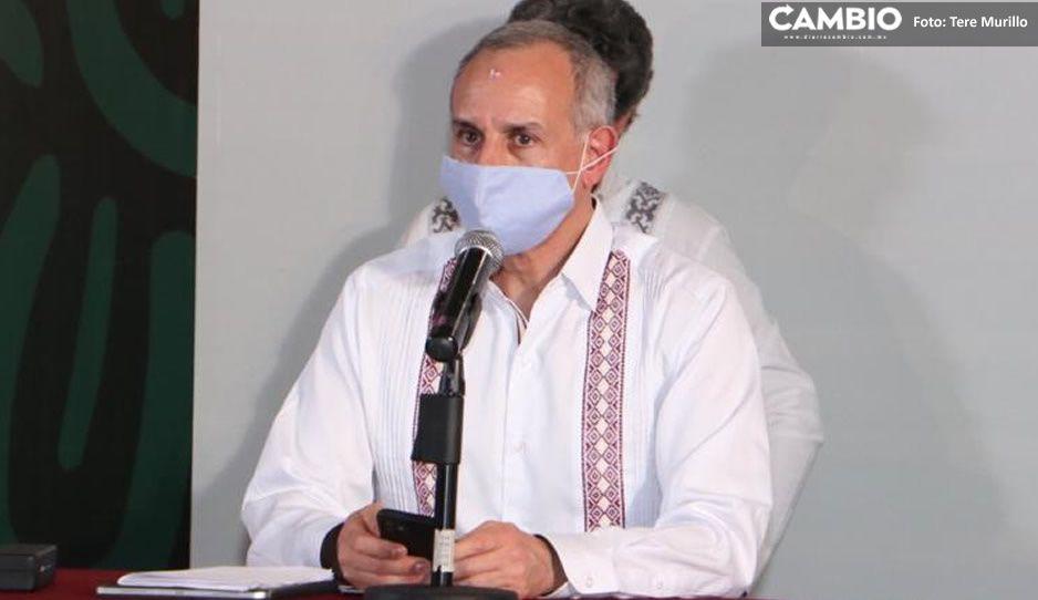 Gatell pide a los poblanos no ilusionarse con volver a la normalidad: la epidemia no es predecible (VIDEO)