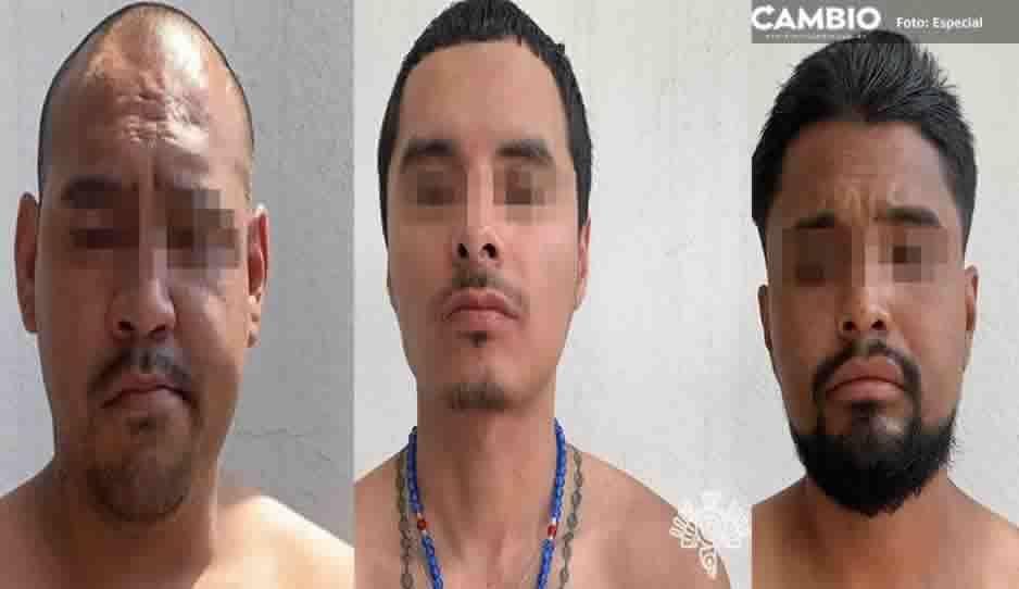 Detienen a tres narcomenudistas con marihuana y cocaína  en Santa María La Rivera