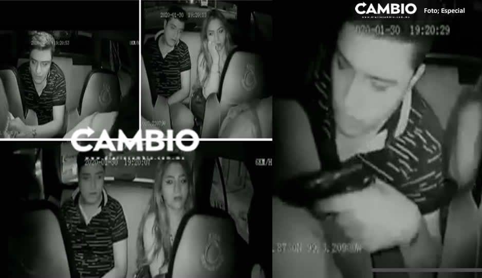 Así encañonaron y asaltaron a Cabify en la tercera sección de Los Héroes (VIDEO)