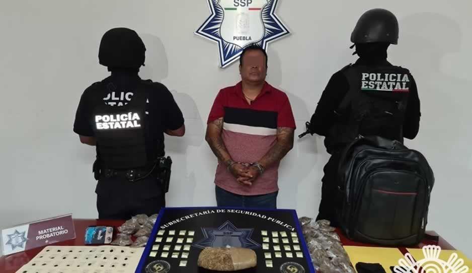 Capturan a El Caníbal por narcomenudeo y extorsión en el Centro Histórico