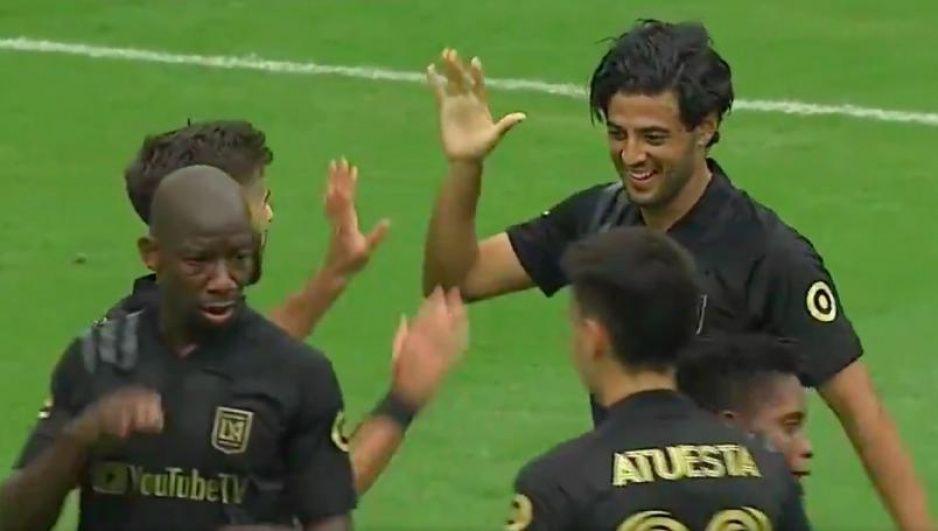 Carlitos Vela anota un golazo en su regreso con el LAFC