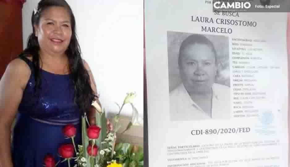 Ayuda a encontrar a Laura Crisostomo Marcelo de 52 años; desapareció en Amozoc