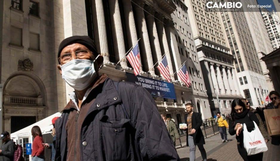 Alertan en Estados Unidos, pueden alcanzar 100 mil contagios al día