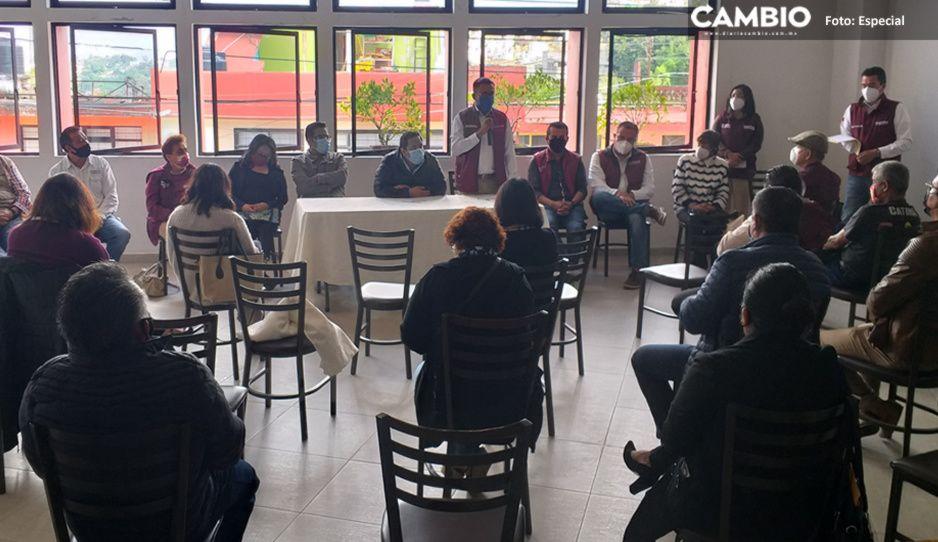 Edgar Garmendia impulsa a Pablo Salazar para presidir a Morena