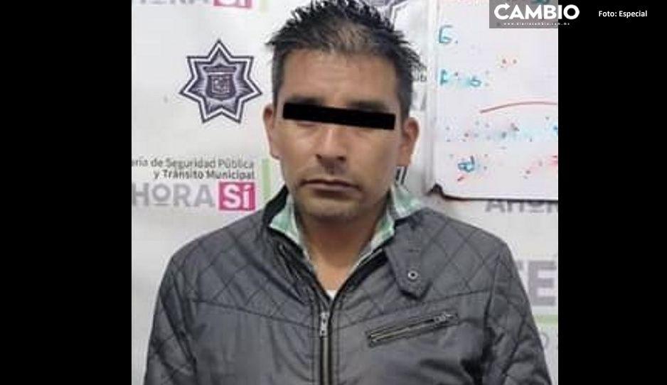 """Cae en Xicotepec otro narcomenudista presunto colaborador """"del Norteño"""""""