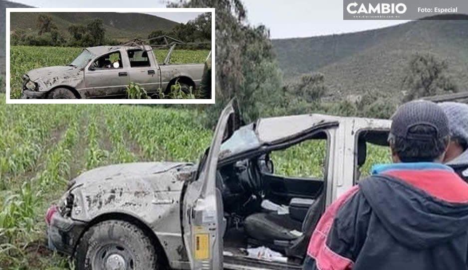 Muere campesino de 65 años en terrible accidente vial en Palmar de Bravo