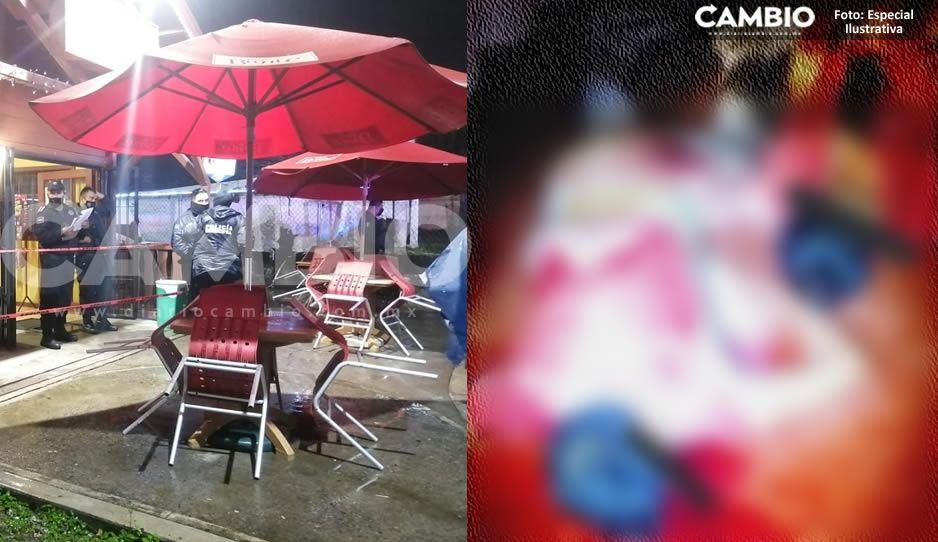 Terror en Xicotepec: rafaguean a dos abogados al interior de una cafetería