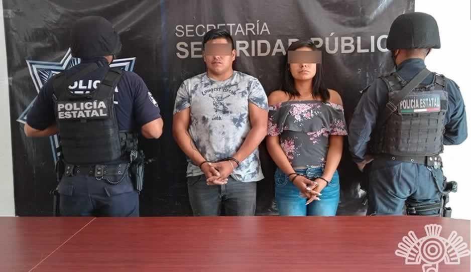 Detienen a dos vendedores de autopartes robadas en la 46 Poniente