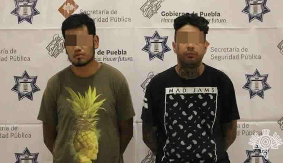 Capturan a dos narcomenudistas que enviaban droga a Veracruz