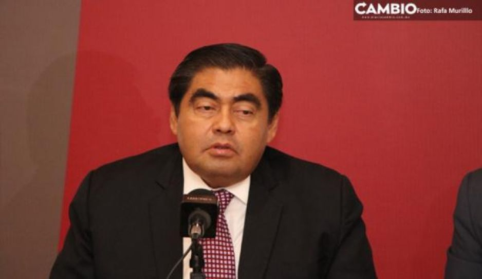 Barbosa reprocha a AMLO que haya aboandonado a Puebla para invertir en Dos Bocas y Tren Maya