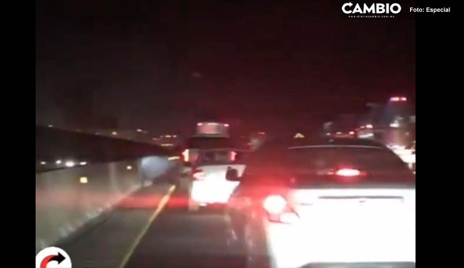 Liberan la autopista México-Puebla: vecinos de Tlahuapan amenazan con seguir manifestándose (VIDEO)