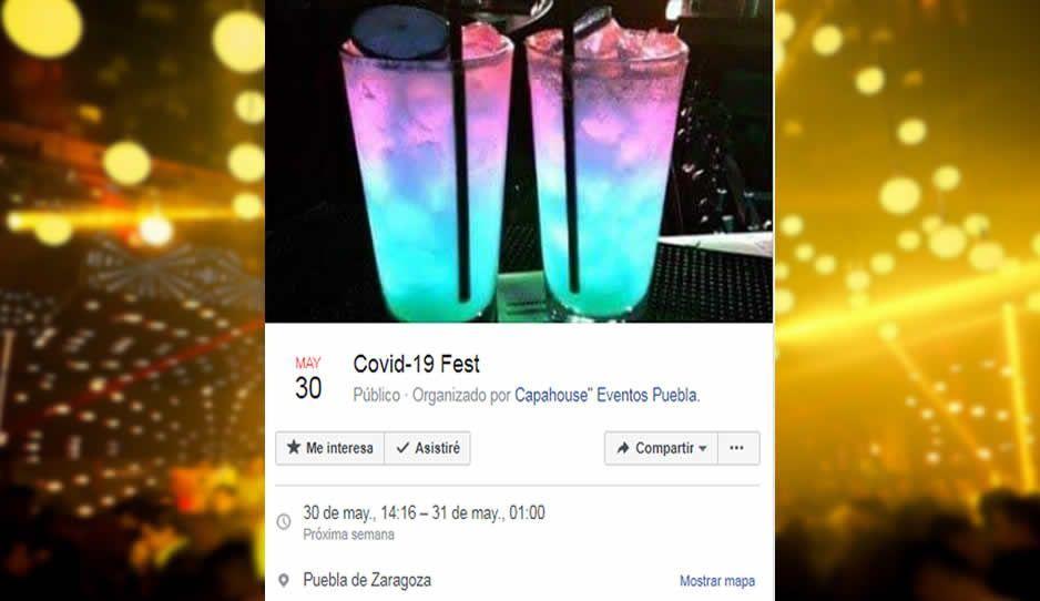 CovidFest Puebla: Más 500 poblanos asistirán al magno evento que pondrá en peligro a media ciudad
