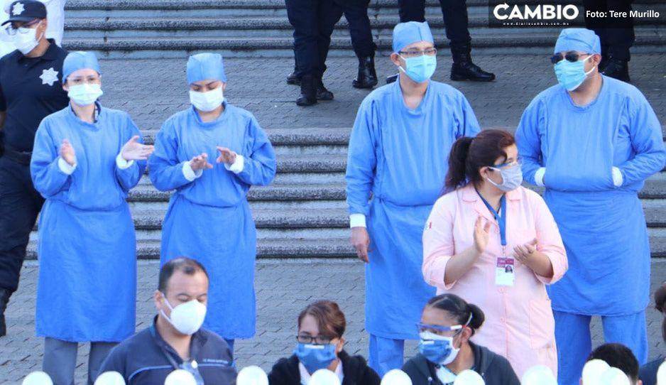 ¡Tendrán que esperar! personal de salud de Puebla está contemplado hasta tercera etapa de vacunación