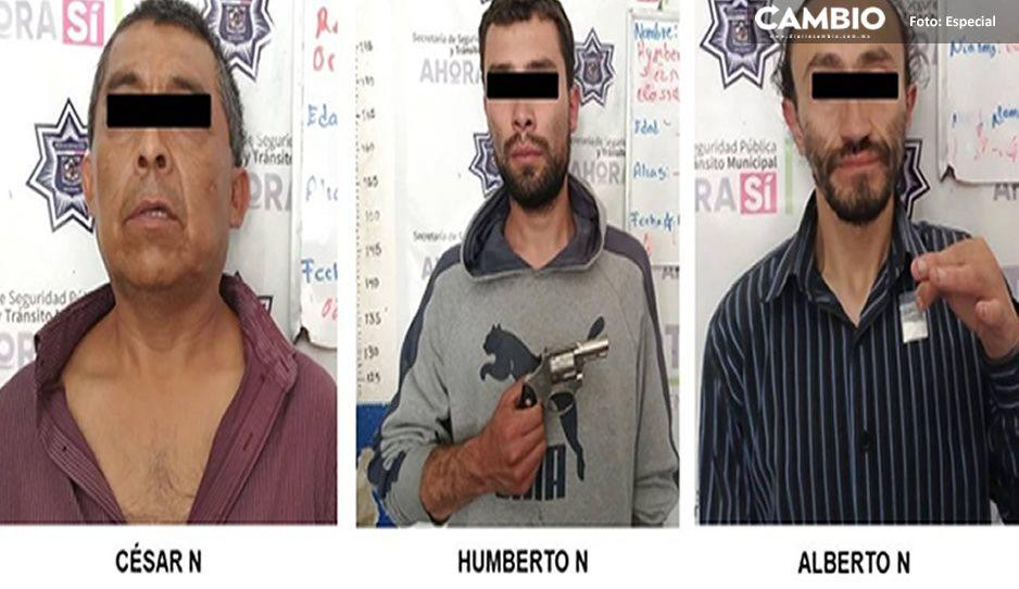 Cae presunta banda delictiva que operaba en la Sierra Norte de Puebla