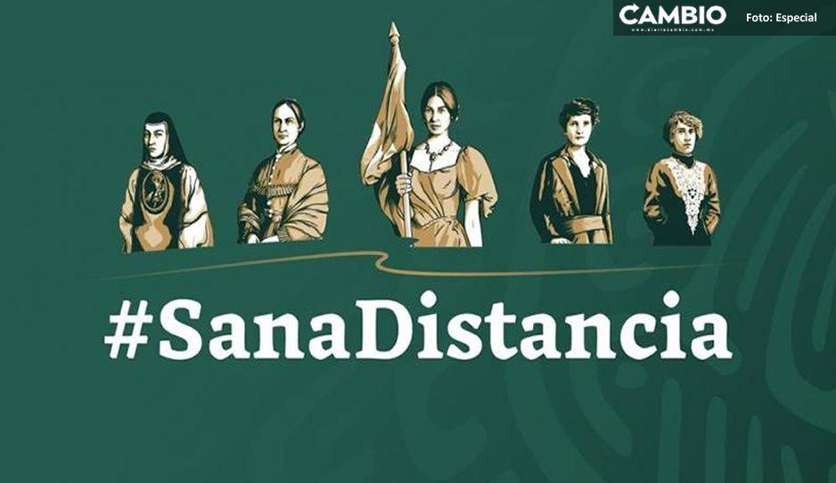 Inmujeres se suma a la Jornada Nacional de Sana Distancia ante el Covid-19.