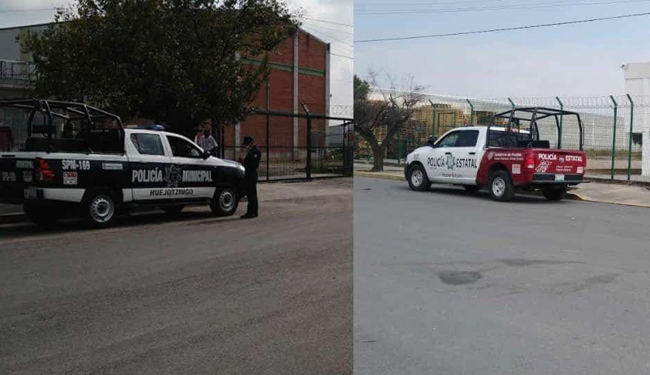 ¡Hay tiro! Conflicto por líder sindical causa llamado de policías en Huejotzigo