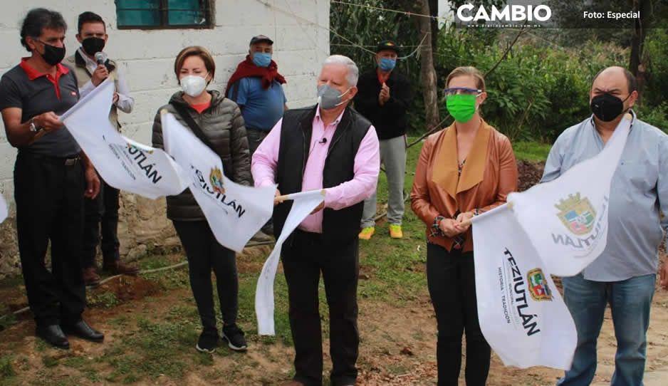Carlos Peredo cumple con seguridad  pública y agua potable en Teziutlán