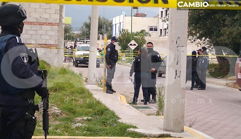 Encuentran casa de seguridad en barrio de Huejotzingo con un secuestrado (VIDEO)
