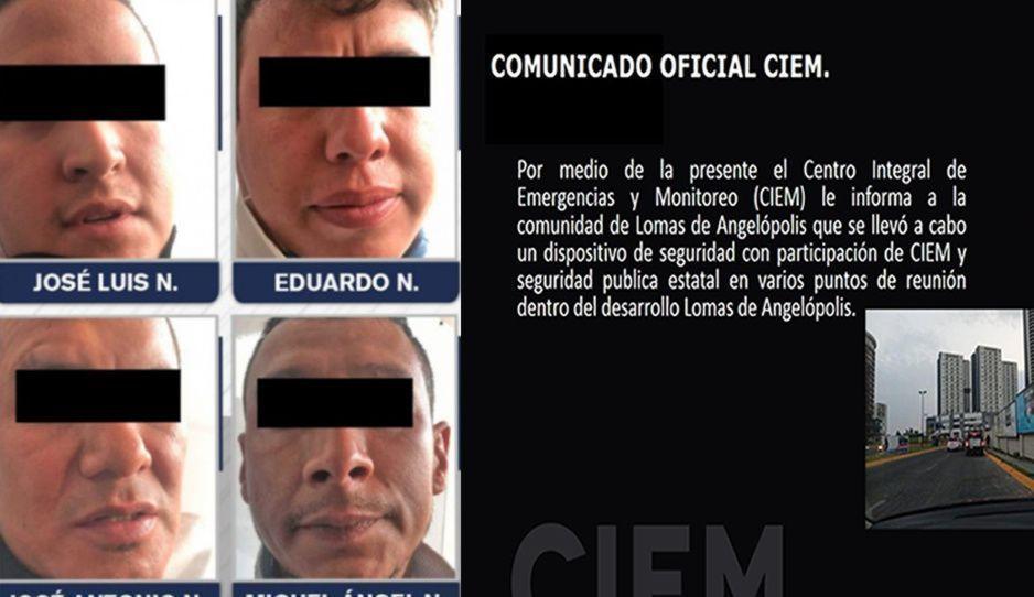 Continúan operativos contra Los Sinaloas en Angelópolis