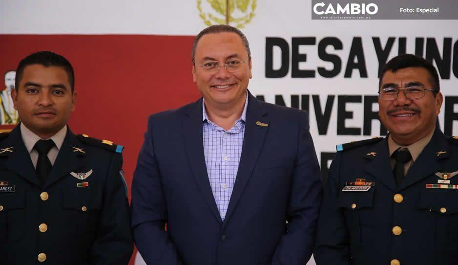 Gobierno de Atlixco trabaja de la mano con Ejército por la tranquilidad de las familias