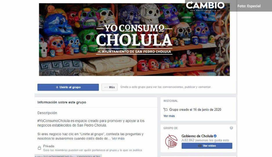 Gobierno de San Pedro Cholula mantiene  actividades con herramientas electrónicas
