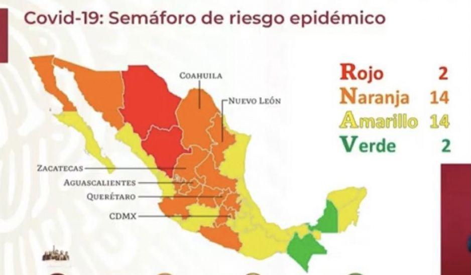 Por quinta quincena consecutiva Puebla permanecerá en semáforo amarillo