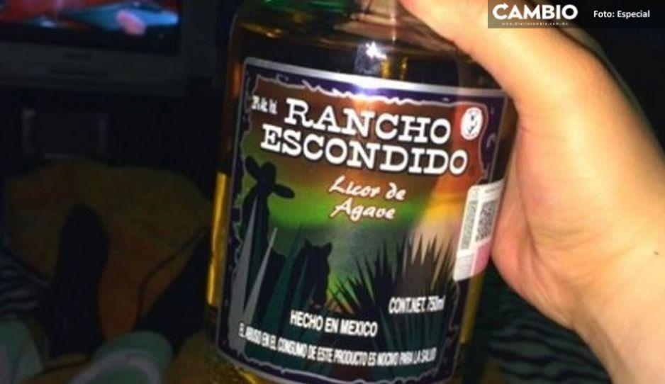 Rancho escondido mortal: ya van cinco personas muertas por alcohol adulterado