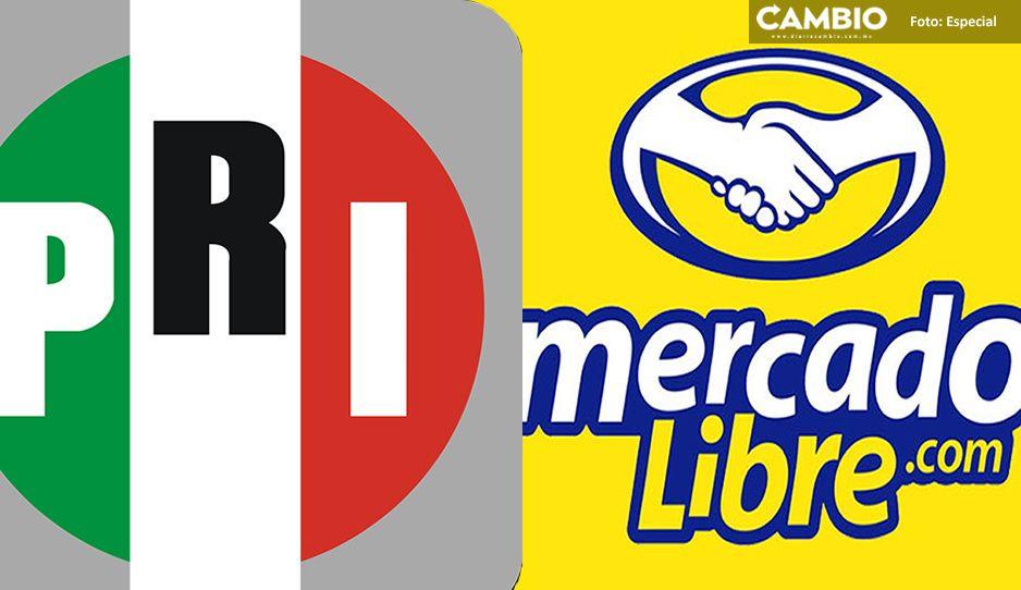 ¡Lo que faltaba! el PRI intentó vender padrón electoral en Mercado Libre