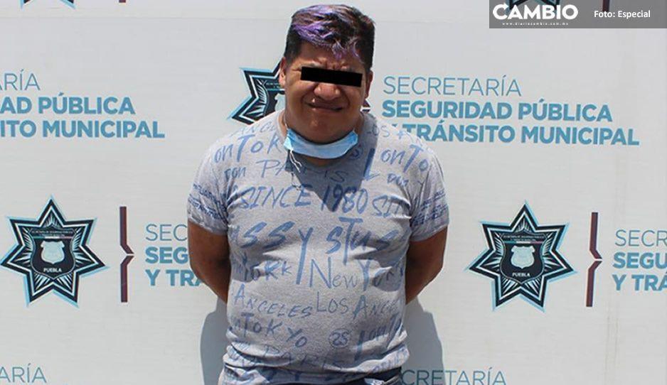 Detienen a asaltante de la ruta 44 en la Azcárate luego de haber atracado a pasajero