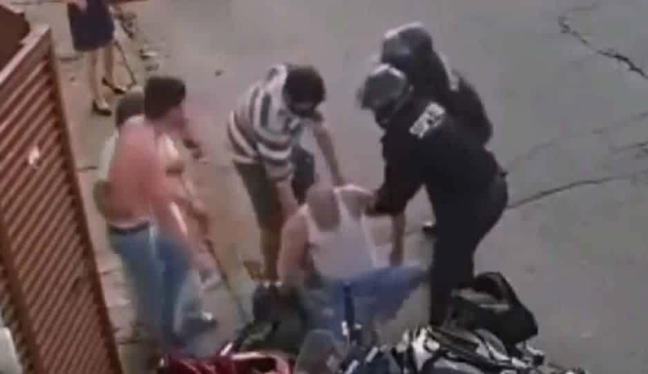 Acusan de abuso de autoridad, homicidio culposo y lesiones a policías Pablo y Uriel detenidos en infarto de abuelito