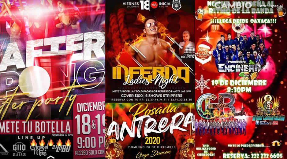 ¡Se va a poner bueno! Más de 20 posadas para el fin de semana en San Andrés Cholula