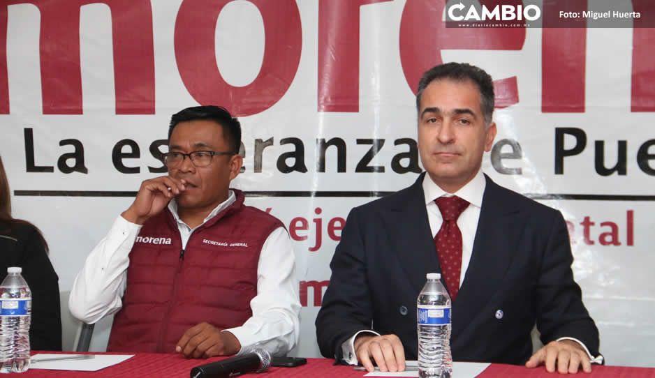 Bracamonte y Garmendia siguen la pelea por  dirigencia de Morena ante inacción del CEN