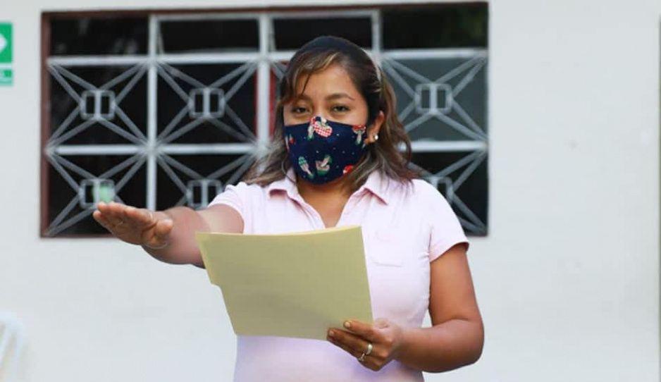 Marisol Manuel María tomo protesta como edil sustituto de Venustiano Carranza