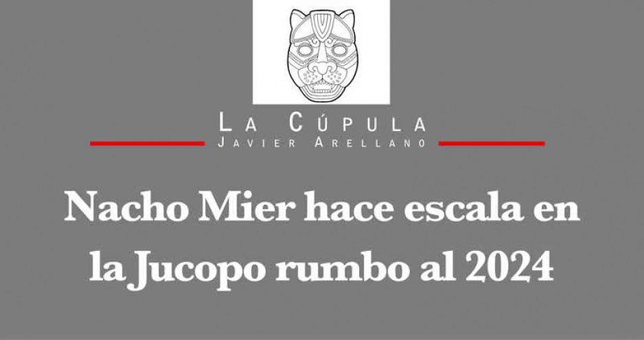 Nacho Mier hace escala en la Jucopo rumbo al 2024