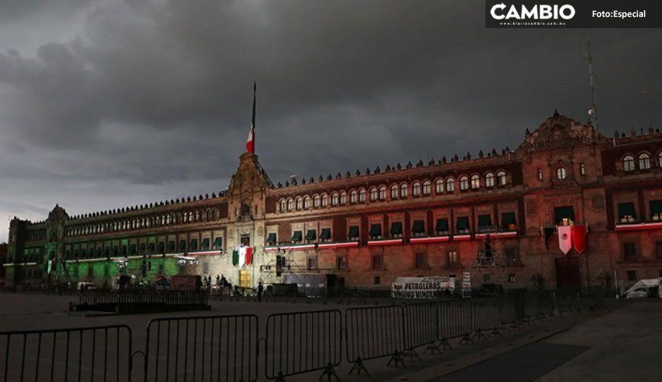 AMLO da inicio a la ceremonia del Grito de Independencia (VIDEO)