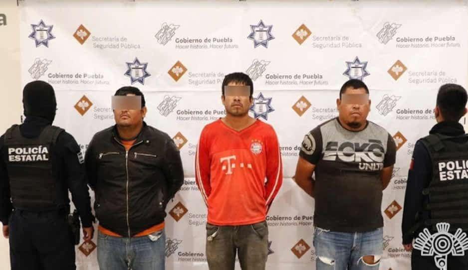 Caen tres causantes de violencia en Izúcar de Matamoros, Tlapanalá y Tepeojuma