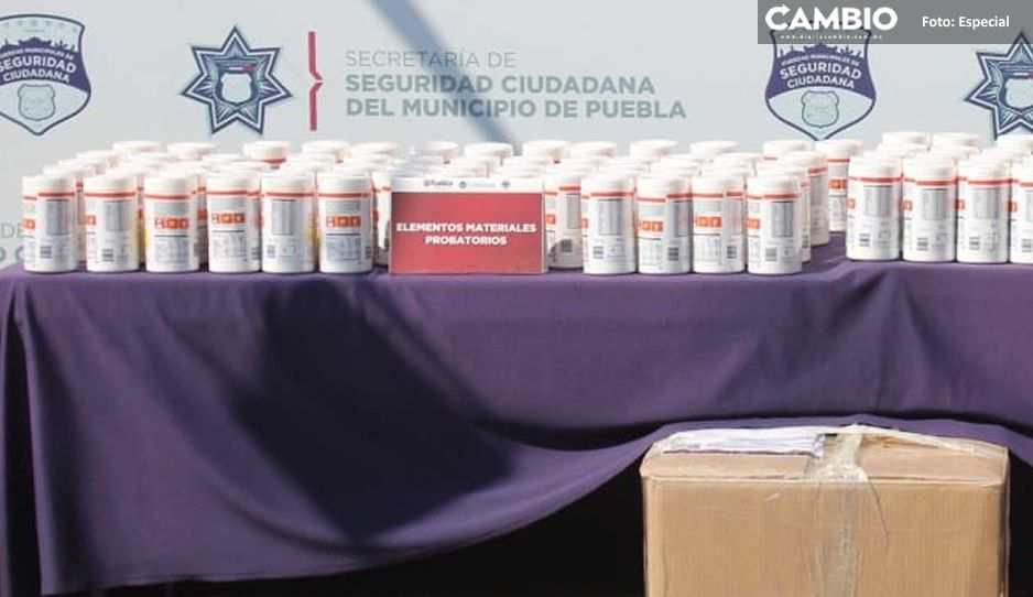 Llega fentanilo a Puebla: decomisan 42 kilogramos en la CAPU