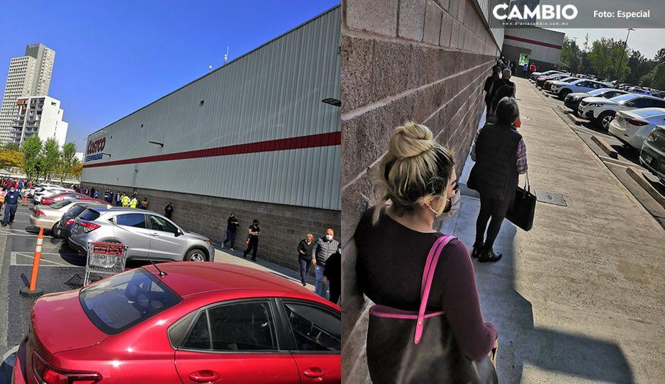 Poblanos no entienden y se atiborran en Costco para compras navideñas (VIDEO)