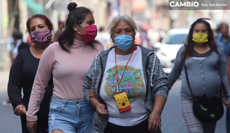 Amas de casa y empleados, la población más vulnerable al coronavirus en Puebla